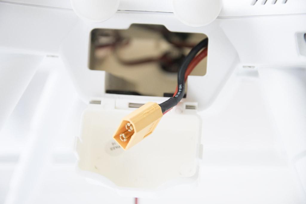 Разъем для подключения аккумулятора