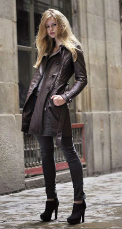 кожаные куртки Oakwood