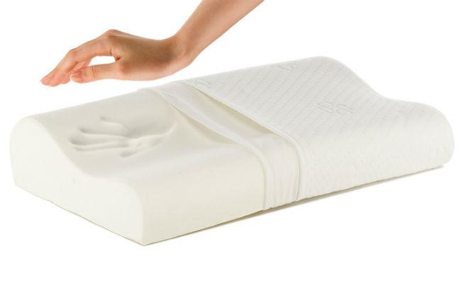 На фото наполнители для ортопедических подушек