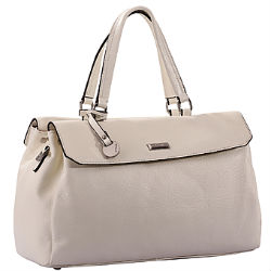 Белая женская сумка Pola