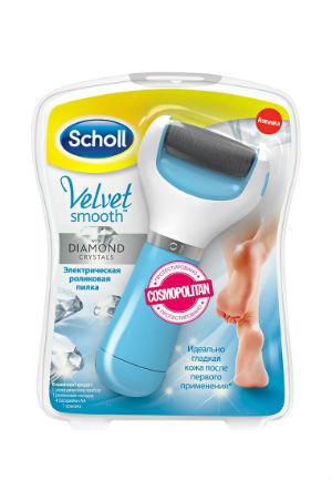 Электрическая пилка для ногтей Scholl Velvet Smooth