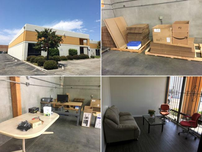 Фотографии склада и офиса