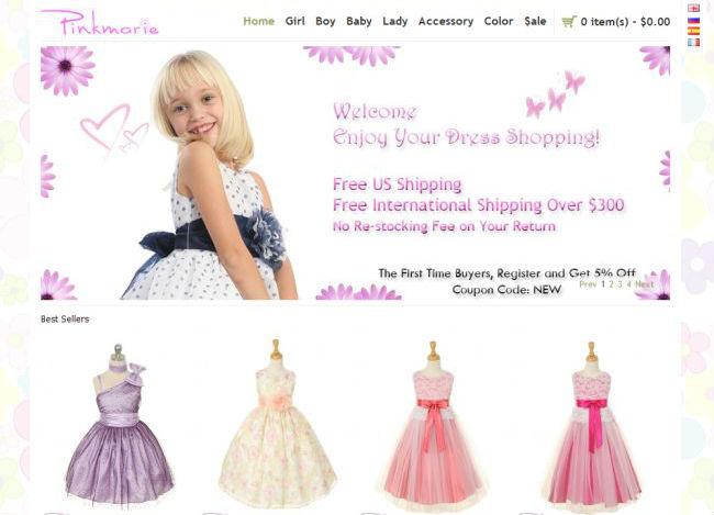 Интернет-магазин Pinkmarie.com