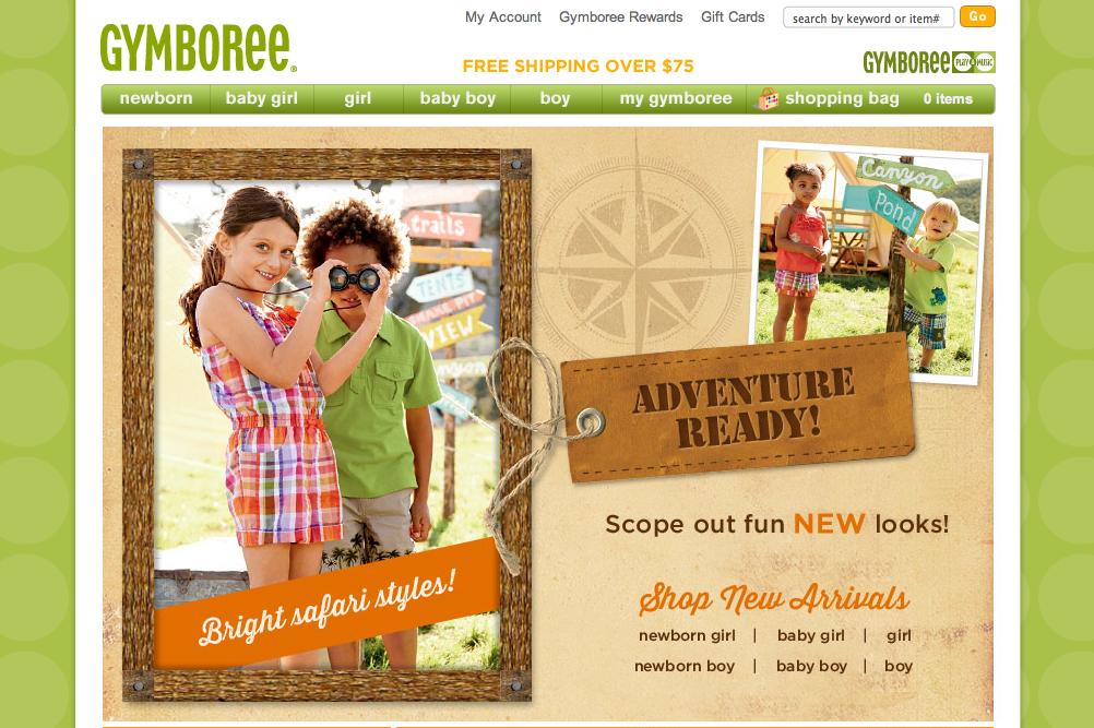 gymboree интернет-магазин детской одежды