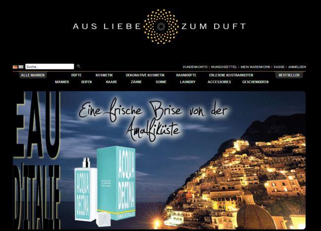Интернет-магазин Ausliebezumduft.de