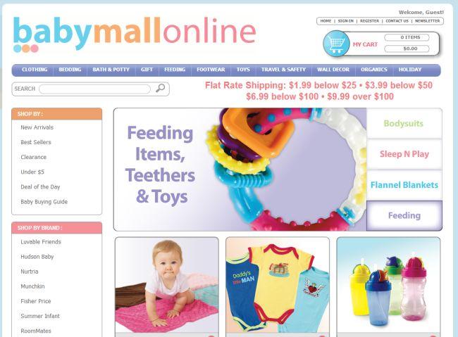 Интернет-магазин Babymallonline.com