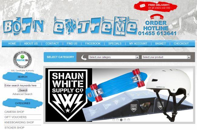 Интернет-магазин BornExtreme.co.uk