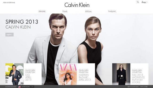 Интернет-магазин Calvinklein.com
