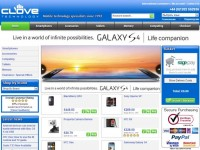 Интернет-магазин Clove.co.uk