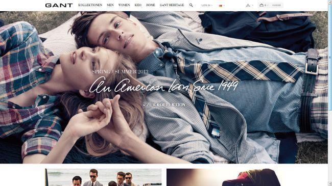 Интернет-магазин De.gant.com