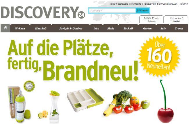 Интернет-магазин Discovery-24.de