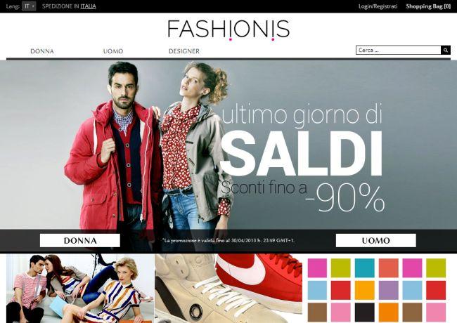 Интернет-магазин Fashionis.com