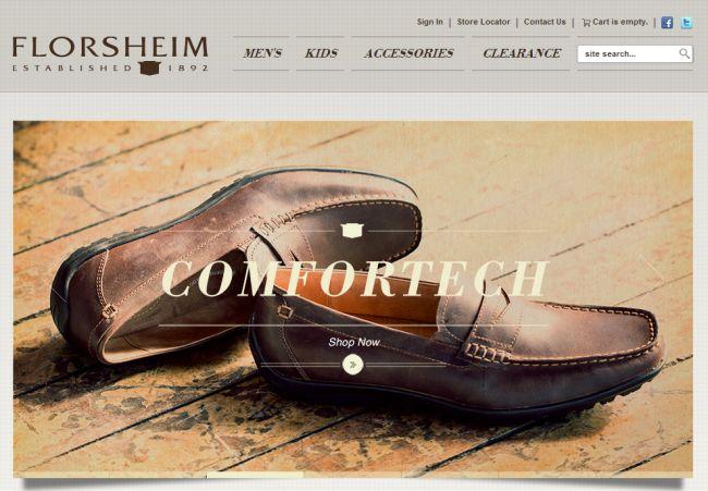 Интернет-магазин Florsheim.com