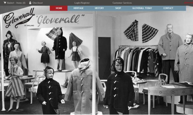Интернет-магазин Gloverall.com