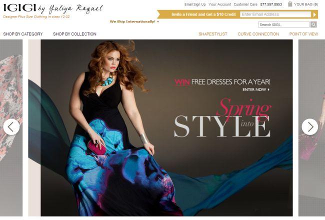 Интернет-магазин Igigi.com