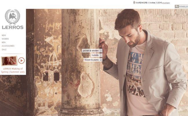 Интернет-магазин Lerros.com