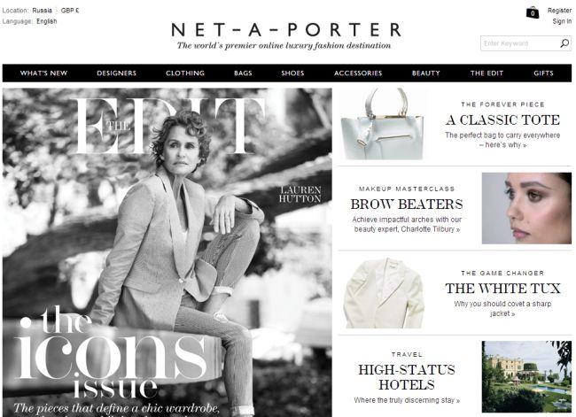 Интернет-магазин Net-a-porter.com