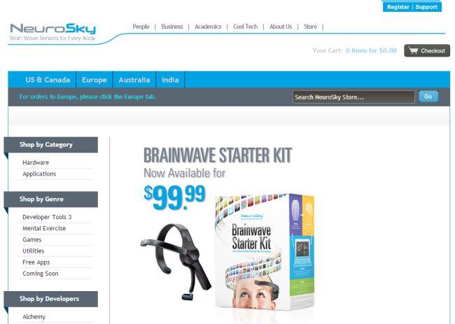 Интернет-магазин NeuroSky.com