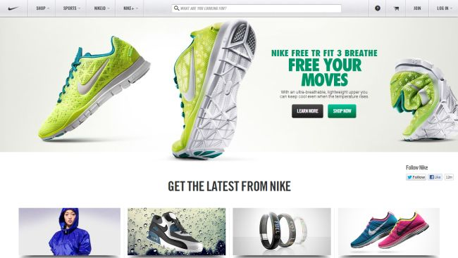 Интернет-магазин Nike.com