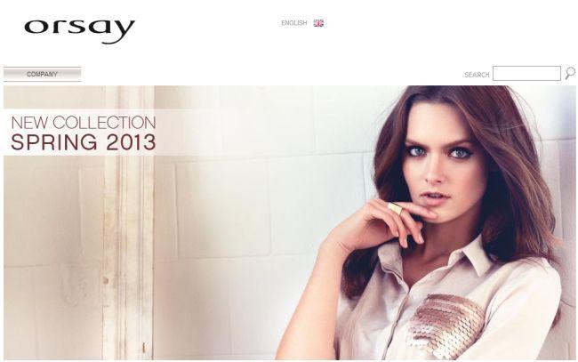 Интернет-магазин Orsay.com