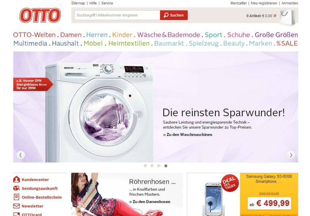 Интернет-магазин Otto.de