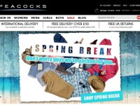 Интернет-магазин Peacocks.co.uk