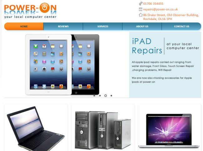 Интернет-магазин Power-on.co.uk