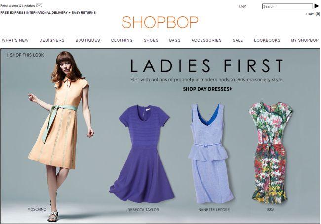 Интернет-магазин ShopBop.com