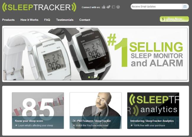 Интернет-магазин Sleeptracker.com