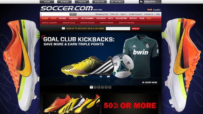 Интернет-магазин Soccer.com