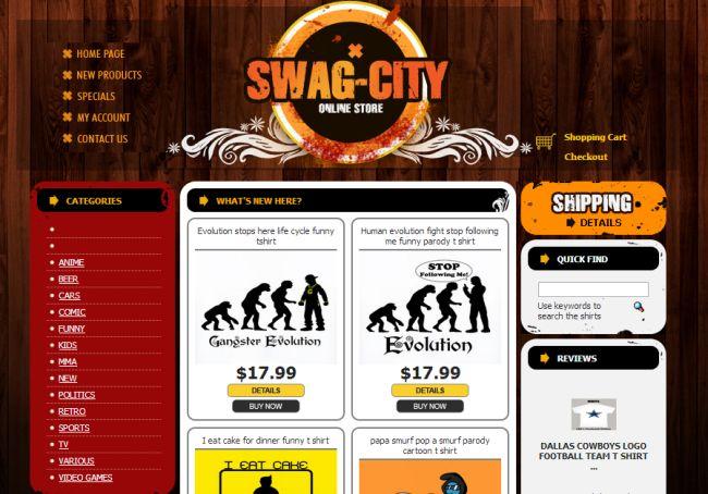 Интернет-магазин Swag-city.com