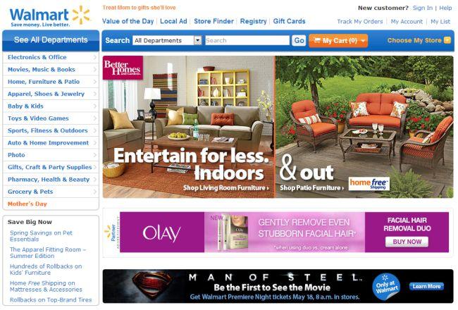Интернет-магазин Walmart.com