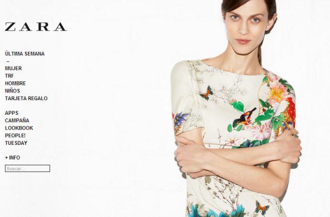 Интернет-магазин Zara.com