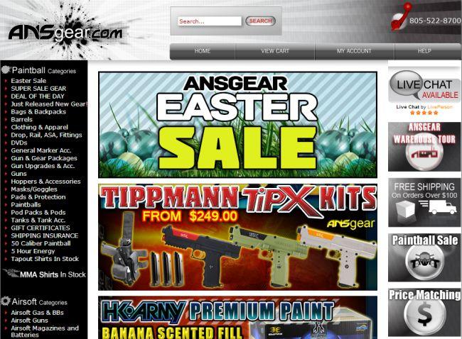 Интернет-магазин Ansgear.com