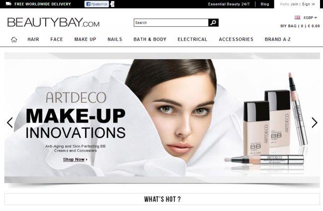 Интернет-магазин Beautybay.com