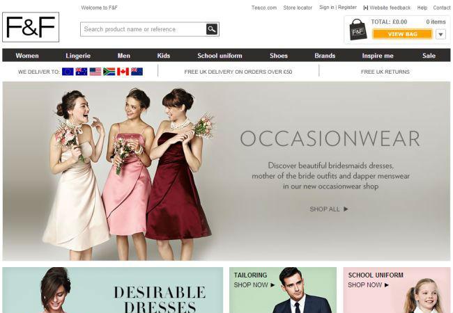 Интернет-магазин Clothingattesco.com