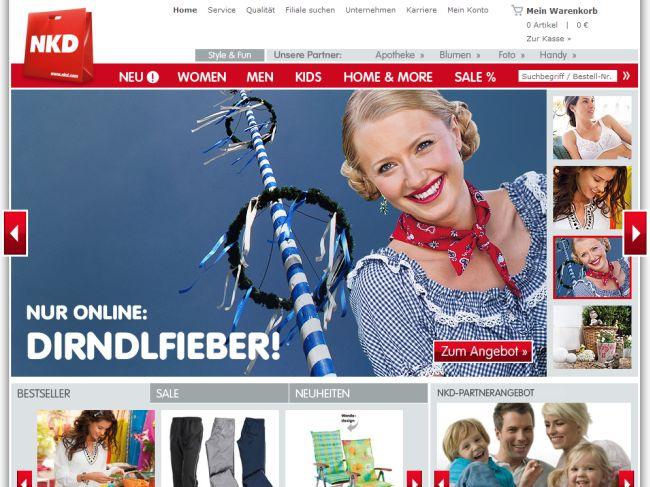 Интернет-магазин Nkd.com