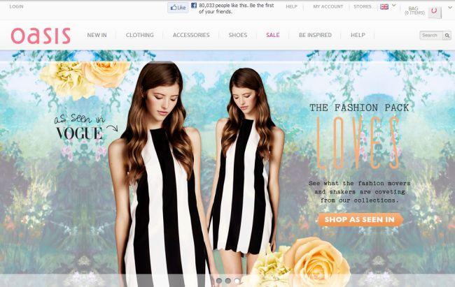 Интернет-магазин Oasis-stores.com