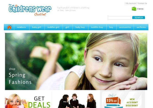 Интернет-магазин Thechildrenswearoutlet.com