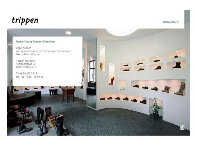 Интернет-магазин Trippen.com