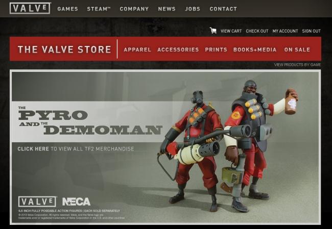 Интернет-магазин Store.valvesoftware.com