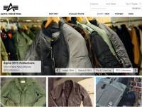 Интернет-магазин Alphaindustries.com