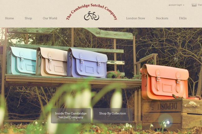 Интернет-магазин Cambridgesatchel.com