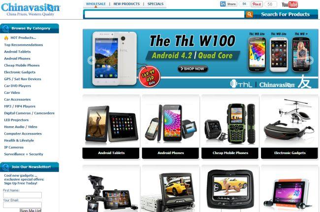 Интернет-магазин Chinavasion.com