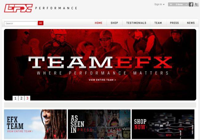 Интернет-магазин Efxusa.com