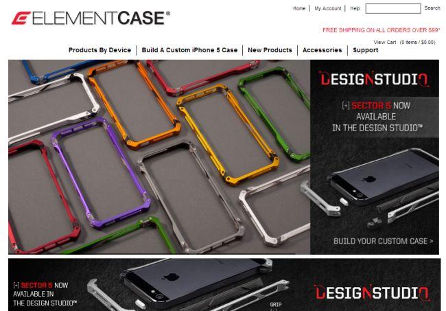 Интернет-магазин Elementcase.com
