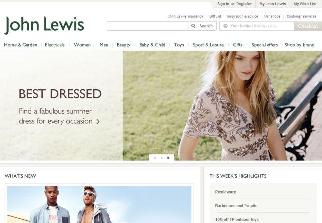 Интернет-магазин Johnlewis.com