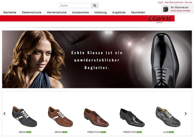 Интернет-магазин Lloyd-shop.de
