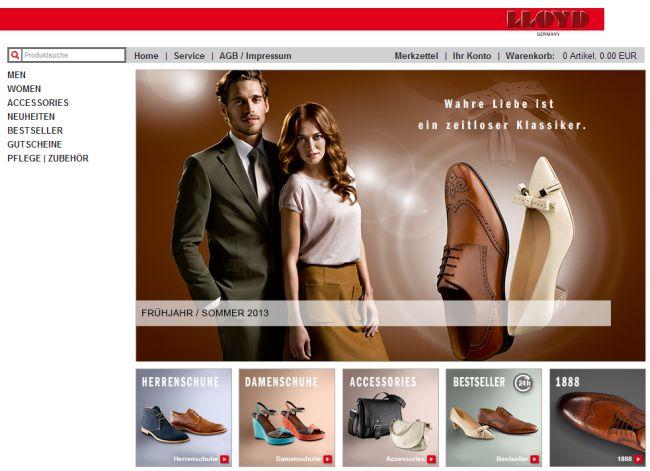 Интернет-магазин Lloydstore.de