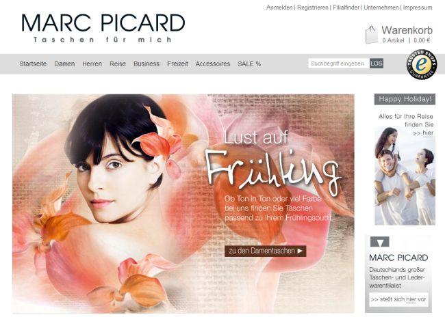 Интернет-магазин Marc-picard-shop.de